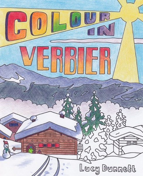 COLOUR IN VERBIER by Lucy Dunnet