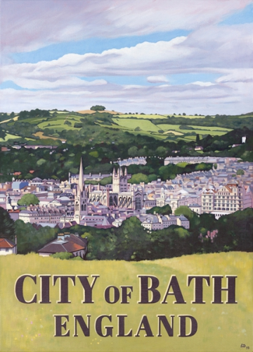 City of Bath Poster